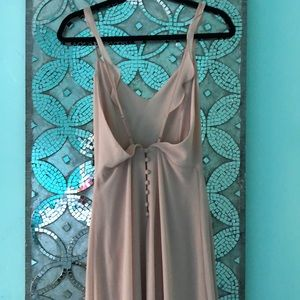 Gorgeous Light Pink Prom Dress with Buttons